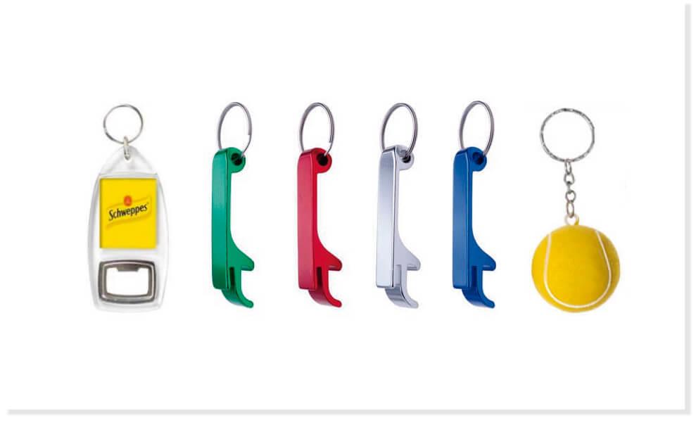 Llaveros personalizados merchandising