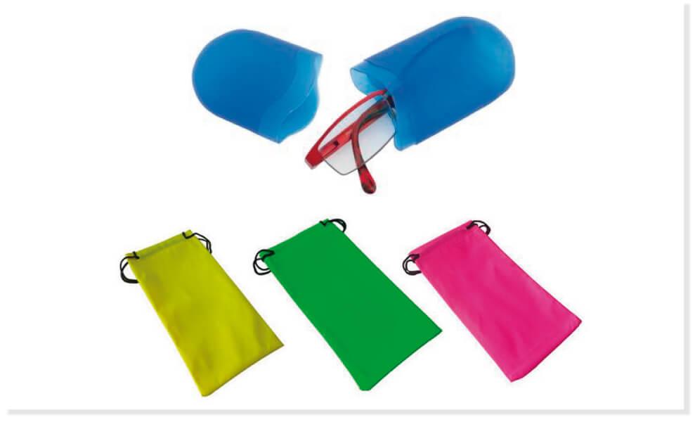 Fundas de gafas para merchandising
