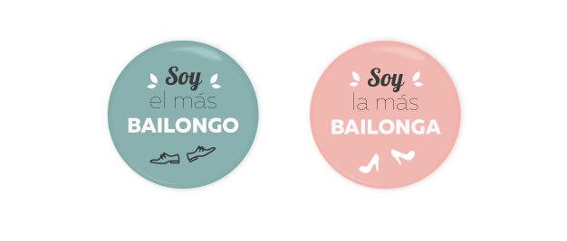 Chapas personalizadas - El bailongo